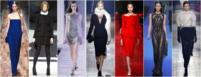 Paris Fashion Week Trends: A/W 2013